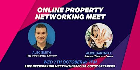 Online Property Networking Meet tickets