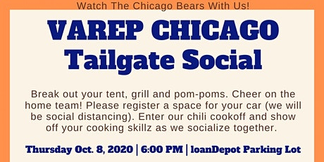 VAREP CHICAGO TAILGATE SOCIAL tickets
