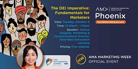 The DEI Imperative: Fundamentals for Marketers tickets
