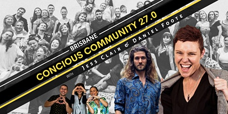 Conscious Community  Brisbane 27.0 tickets