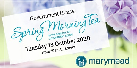 Marymead Auxiliary - Government House - Spring Morning Tea tickets