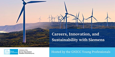 Careers, Innovation, and Sustainability with Siemens tickets