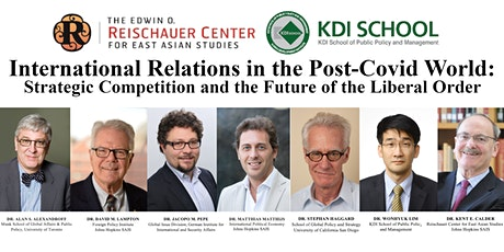 International Relations in the Post-Covid World tickets