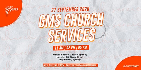 Sunday Live Service 2 @ 2pm - 27 September 2020 tickets