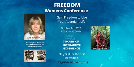 FREEDOM  Conference for Women Ohio Barb Vetter LPCC  Leader tickets