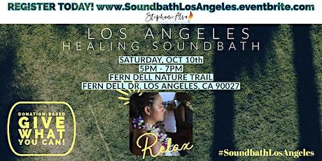 Healing Soundbath Circle - Los Angeles tickets