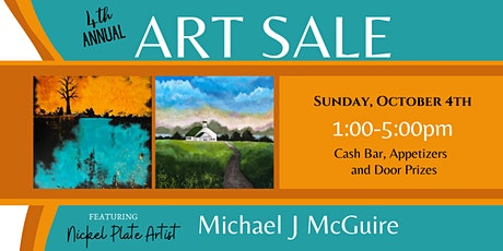 Michael J McGuire's 4th Annual Harbour Trees Art Sale tickets