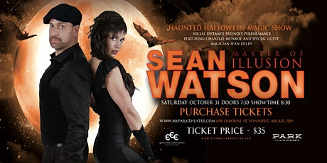 Sean Watson - Haunted Halloween Magic Show tickets