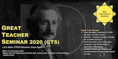 GREAT TEACHER SEMINAR 2020 tickets