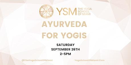 Ayurveda For Yogis tickets