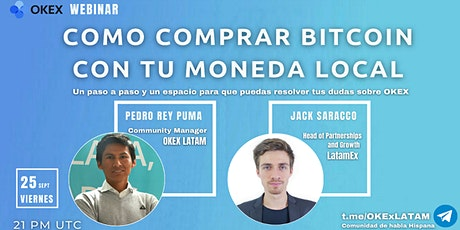 Como comprar Bitcoin en Latino America con OKEX y LatamEx entradas