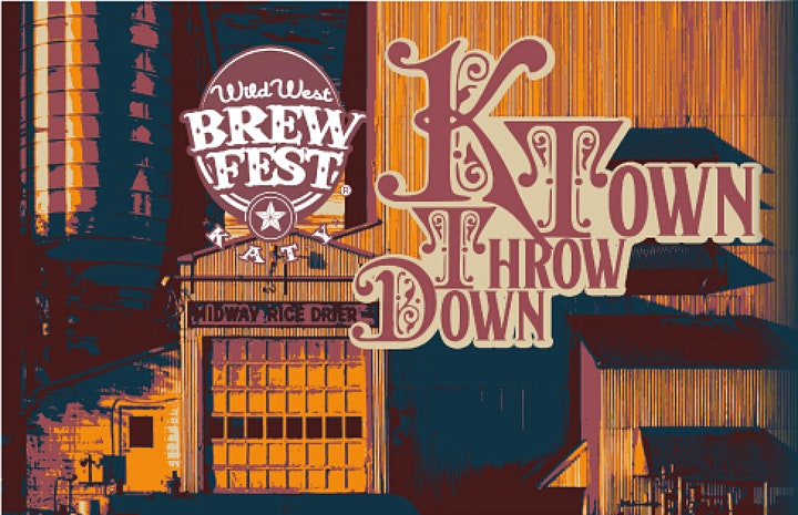 Wild West Brewfest presents the K-Town Throw-Down!  11/11/21 image