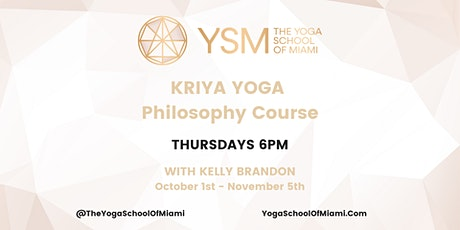 Kriya Yoga Philosophy Course tickets
