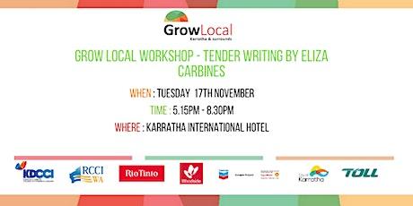 Grow Local Workshop - Tender Writing tickets