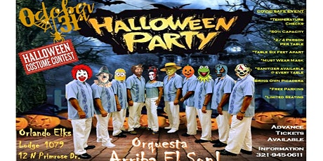 HALLOWEEN PARTY - BAILE DE HALLOWEEN - LIVE MUSIC - DANCE PARTY tickets