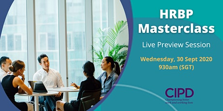Preview to HRBP Masterclass tickets