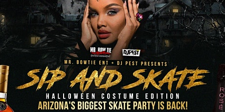 Sip And Skate AZ Halloween 20 Costume Edition tickets