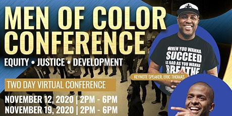 Men of Color Equity,  Justice &  Development Conference tickets