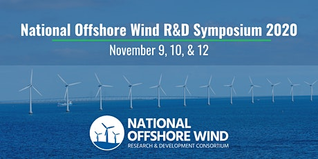 National Offshore Wind R&D Symposium 2020 tickets