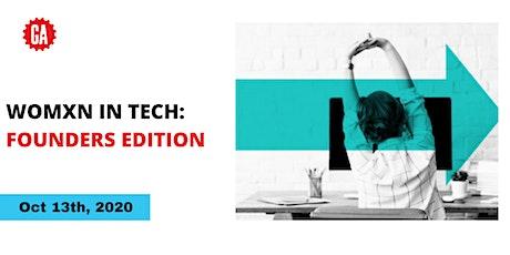 Womxn in Tech: Founders Edition tickets