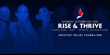 RISE AND THRIVE FASHION SHOW tickets