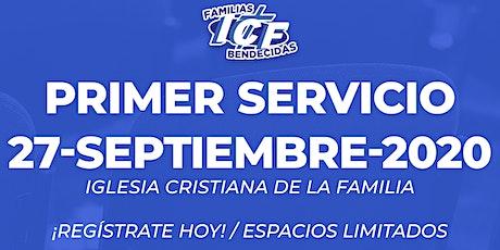 Servicio ICF - 27 de septiembre de 2020  - Primer Servicio - 8AM tickets