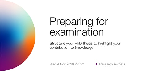 ANUHDR: Preparing for examination tickets