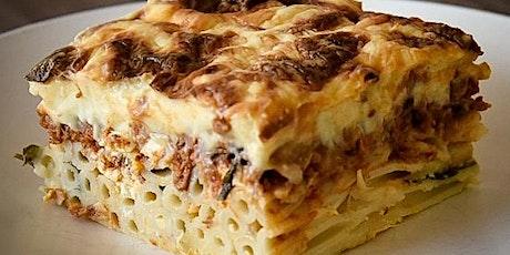 Online Learn to make Pastitsio (Greek Pasta Dish) tickets