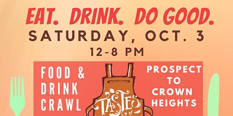 Tastes of Prospect to Crown Heights tickets
