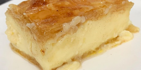 Online Cooking Class - Learn to make Galaktoboureko - Greek semolina pie tickets