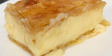Online Learn to make Galaktoboureko - Greek custard pie tickets