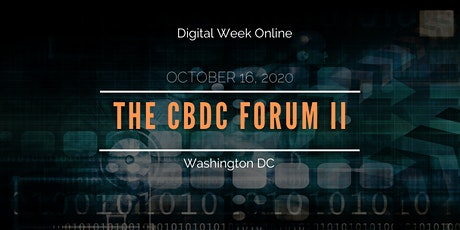 The CBDC Forum II tickets