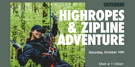 Highropes & Zipline Adventure tickets