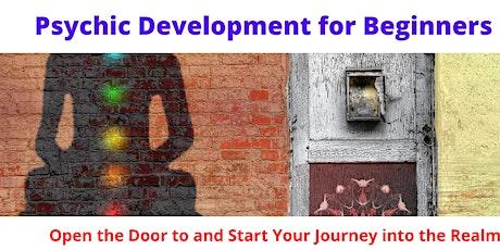 Zoom Beginner Psychic Development Course tickets