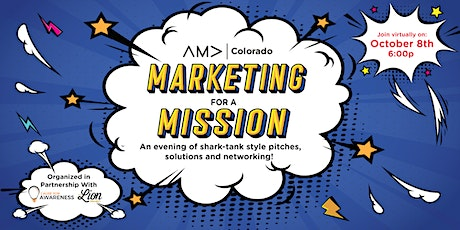 Marketing for a Mission tickets