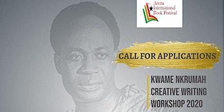 Kwame Nkrumah Creative Writing Workshop 2020 tickets