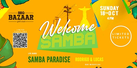 Welcome SAMBA - Samba Paradise Live (NEW date) tickets