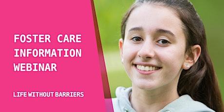 Live Foster Care Information Webinar - Western NSW tickets