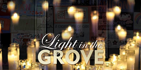 Light in the Grove Fundraiser with 'Virtual VIP Tribute & Thank You Event' tickets