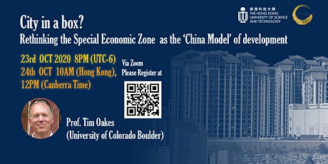 City in a box? Rethinking the Special Economic Zone as the 'China Model' of tickets