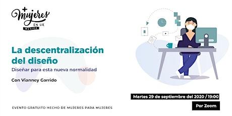 +Mujeres UX México Reunión Virtual Septiembre 29 tickets