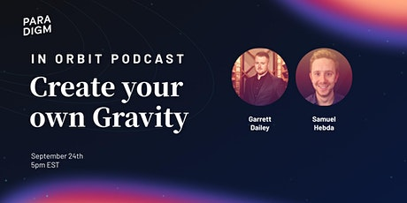 Create your own GRAVITY for your business! tickets