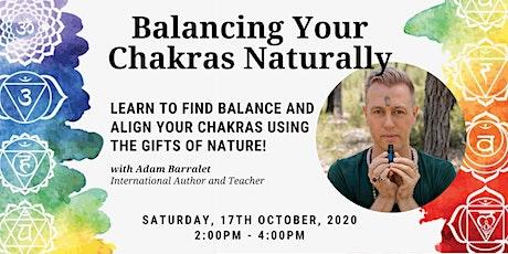 Balancing Chakras Naturally tickets
