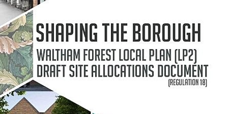 Local Plan Site Allocations Engagement Event 260920 tickets
