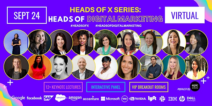 Heads Of X Series: Heads of Digital Marketing Conference image