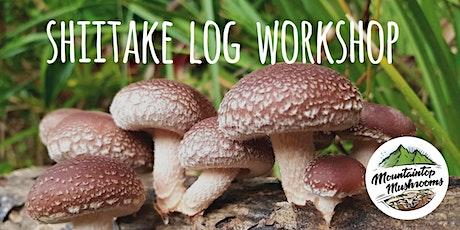 Shiitake Log Workshop tickets