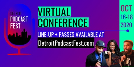 Detroit Podcast Conference tickets