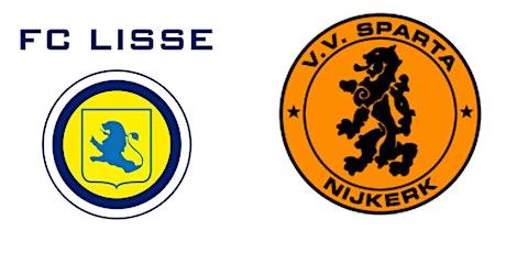 FC Lisse - Sparta Nijkerk tickets