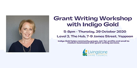 Grant Writing Workshop with Indigo Gold tickets