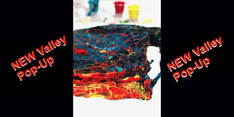 Valley Pop-up Paint Pouring Two Canvases  6.11.20 tickets